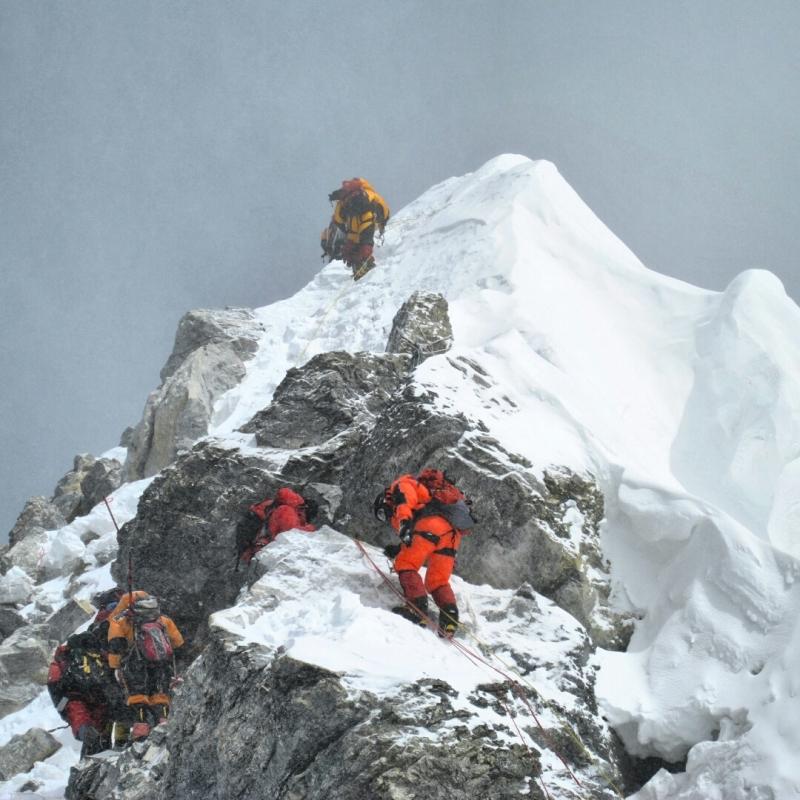 Everest - Escaló Hillary