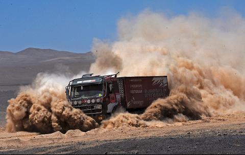 Camión al Dakar