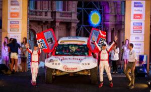 Acciona, Rally Dakar, eléctrico
