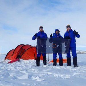 Albert Bosch, expediciones polares, Vista Optica