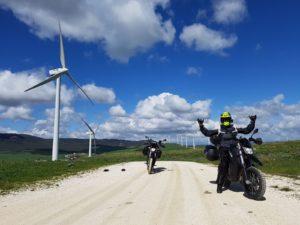Andalucía, moto eléctrica, VOLTA
