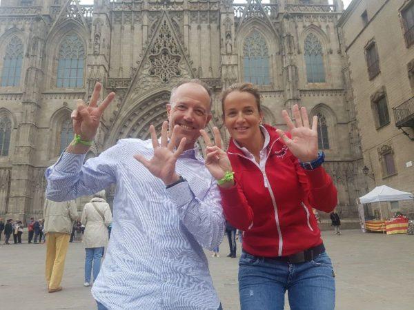 Nicole Ribera y Albert Bosch